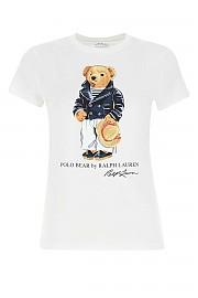 [관부가세포함][Polo Ralph Lauren] SS21 여성 반팔 티셔츠 G(211827926 001)