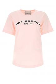 [관부가세포함][필라소피 드 로렌조 세라피니] SS21 여성 반팔 티셔츠 G(07090746 A0226)