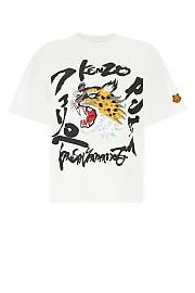 [관부가세포함][겐조] SS21 여성 반팔 티셔츠 G(FB52TS6404SK 01)