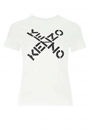 [관부가세포함][겐조] SS21 여성 반팔 티셔츠 G(FB52TS8504SJ 01)