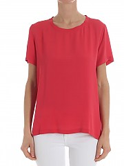[관부가세포함][her shirt] Red Sierra blouse (T02688 740 580H)