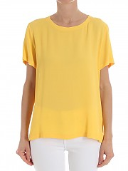 [관부가세포함][her shirt] Yellow Sierra blouse (T02688 740 617H)