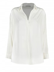 [관부가세포함][Le Tricot Perugia]  silk loose fit 블라우스 (66110354)