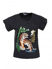 [관부가세포함][겐조] SS21 여성 반팔 티셔츠 (FB52CH0339KE99)