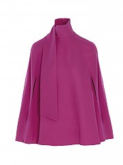 [관부가세포함][발렌티노] SS21 여성 silk cape top (VB3AE5K51MM55U)