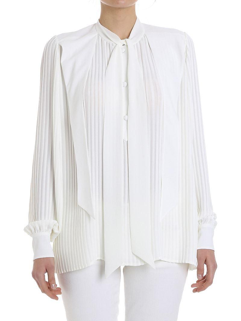 [관부가세포함][발렌시아가] Pleated shirt (492285 TXD20 9000)