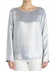 [관부가세포함][her shirt] Silver Roxanne lurex top (V01936 746P 027H)