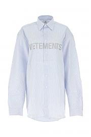 [관부가세포함][베트멍] FW20 여성 셔츠 G(UAH21SH067 WHITELIGHTBLUE)