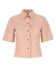 [관부가세포함][나누시카] SS21 여성 반팔 셔츠 G(NW21RSTP01532 PINK)