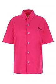 [관부가세포함][마르니] SS21 여성 반팔 셔츠 G(CAMA0383X1UTCZ56 00C55)