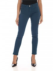 [관부가세포함][마이트윈트윈셋] FW19 여성 5-pocket 데님팬츠 in turquoise (192MP2412 03941)