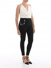 [관부가세포함][엘리자베타 프렌치] SS20 여성 high waist superskinny black 데님팬츠 (PJ68S01E2110)
