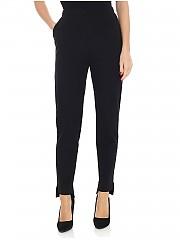 [관부가세포함][Pierantonio Gaspari] Black Milano fabric cigarette trousers (1N6506 HI891 V.91 NERO)