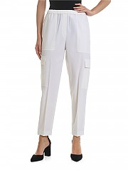 [관부가세포함][띠어리] Easy Cargo trousers in ivory (J0601210 IVORY)