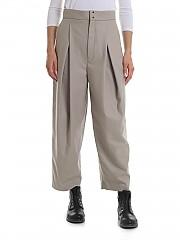 [관부가세포함][Y's 요지야마모토] Y'S Pink wool trousers in beige (YJ-P43-131)
