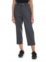 [관부가세포함][소피 드 후레] Trousers in melange gray (PAX WFLA MID GREY MELANG)