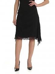[관부가세포함][이로] Black Present skirt (AK068 WP31PRESENT BLA01 BLACK)