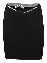 [관부가세포함][알렉산더 왕] FW20 여성 미니 스커트 (4KC2205040 001)
