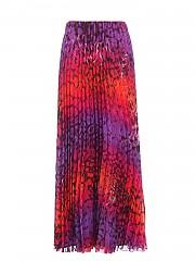 [관부가세포함][클립스] FW20 여성 multicolor animal print pleated 스커트 (A0 1 T103 3975 00016)