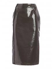 [관부가세포함][비베타] FW20 여성 페이크 가죽 스커트 (20I V2M0 C061 5A26 5391)