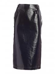 [관부가세포함][비베타] FW20 여성 페이크 가죽 스커트 (20I V2M0 C061 5A26 9000)