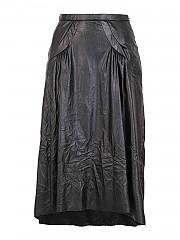 [관부가세포함][N° 21] FW20 여성 faux leather 스커트 (C081 2821 9000)