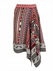 [관부가세포함][에트로] FW20 여성 folk geometric pattern 스커트 (19397 9168 8000)