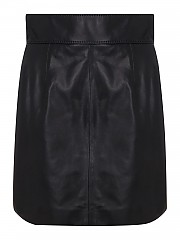 [관부가세포함][돌체앤가바나] SS21 여성 soft leather miniskirt (F4BZ4LHULFYN0000)