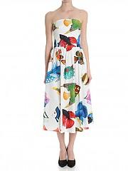 [관부가세포함][스텔라진] White dress with fishes print (J V 061 00 T 9497 0074)
