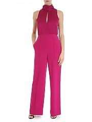 [관부가세포함][다이앤폰퍼스텐버그] Virginie amaranth DVF jumpsuit (12546 KIR)