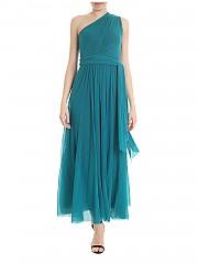 [관부가세포함][퍼지] Green water one shoulder dress (F91165 10056 693)