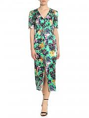 [관부가세포함][살로니] Eden green dress with floral print (10155 103 1252)