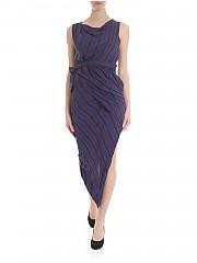 [관부가세포함][비비안웨스트우드 앵글로매니아] Vian dress with blue and black stripes (11010036-10860 K201)