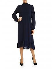 [관부가세포함][퍼지] FW19 여성 원피스 with flounces in blue (F91702 10056 672)