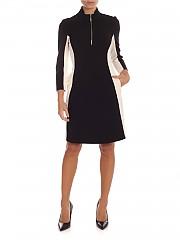 [관부가세포함][마이트윈트윈셋] FW19 여성 Midi 원피스 in black and cream color (192MT2272 04241)