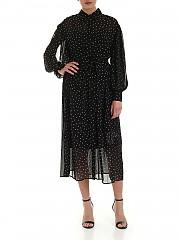 [관부가세포함][DKNY] SS20 여성 셔츠 쉬폰원피스 (P0AD0EQL BFJ)
