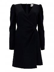 [관부가세포함][레드발렌티노] FW20 여성 puffer sleeve crêpe 원피스 (UR3VAT10562 0NO)
