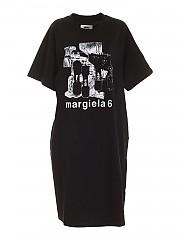 [관부가세포함][메종 마르지엘라] FW20 여성 printed 티셔츠 dress (S52CT0546 S23082 900)