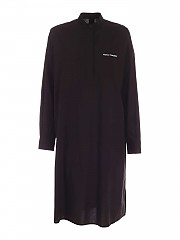 [관부가세포함][메종 마르지엘라] FW20 여성 mandarin collar shirt 원피스 (S52CT0561 S47294 900)