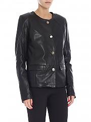 [관부가세포함][S.W.O.R.D 6644] Black leather jacket (1052/JEWEL BLACK)