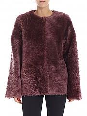 [관부가세포함][데사] Wine-red sheepskin jacket (K11371 AMETHYST)