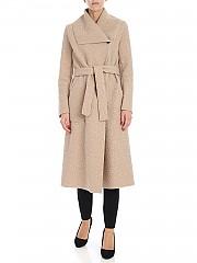 [관부가세포함][에스기비엔] Beige coat with belt (ES2854 FARD)