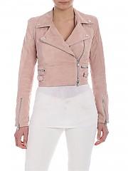 [관부가세포함][S.W.O.R.D 6644] Pink pastel biker jacket (6244 C/99 PETAL)