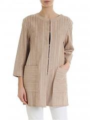 [관부가세포함][데사] Suede coat in beige (K11616 RAFIA)