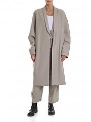 [관부가세포함][Y's 요지야마모토] Y'S Pink Coat in beige (YJ-C41-131)