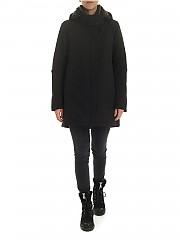 [관부가세포함][에르노 라미나르] 여성 다운 재킷 in black Gore-Tex (PI081DL 11121 9300)