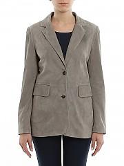 [관부가세포함][데사] SS20 여성 스웨이드 자켓 (K122318 SE003)