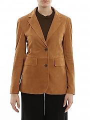 [관부가세포함][데사] SS20 여성 스웨이드 자켓 (K122316 SE002)