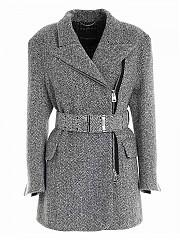 [관부가세포함][에르마노 설비노] FW20 여성 헤링본 코트 (D376D310ZYA T3500)
