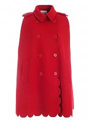 [관부가세포함][레드발렌티노] FW20 여성 buttons cape (UR3CG020 57J 38Z)